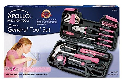 39 Teilig Werkzeugset Werkzeugkoffer Werkzeugkasten