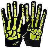 Prostyle Skeleton American Football Receiver Handschuhe - neongrün Gr. 3XL