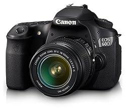 Canon Eos 60d Digital Slr Camera (Inc Ef-s 18-55 Mm F3.5-5.6 Is Lens Kit)