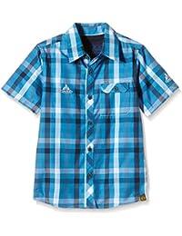 VAUDE Hemd Kids Parcupine Shirt - Camisa / Camiseta para niño, color azul, talla XS