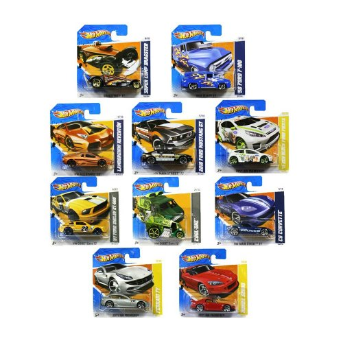 set-of-ten-random-hot-wheels-cars