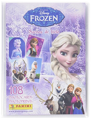 Pack Frozen archivador y 8 photocards
