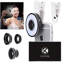 Kit Lenti Fotocamera con Anello Luminoso LED per Telefono /