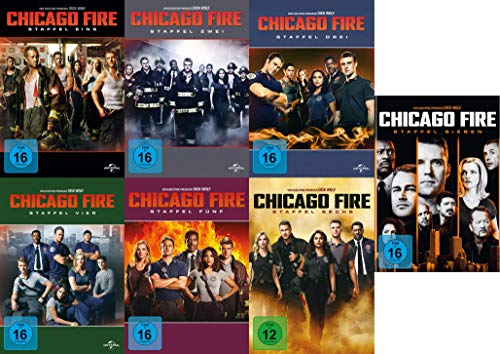 Chicago Fire - Die kompletten Staffeln 1+2+3+4+5+6+7 im Set (42 DVDs)