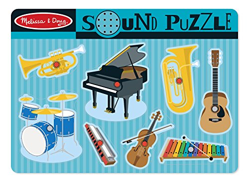 Melissa & Doug - 10732 - Puzzle Sonore - Instruments Musicaux
