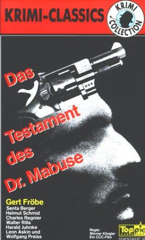Das Testament des Dr. Mabuse [VHS]