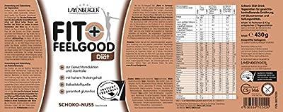 Layenberger Fit + Feelgood Schlankdiät Schoko-Nuss, 1er Pack (1 x 430 g)