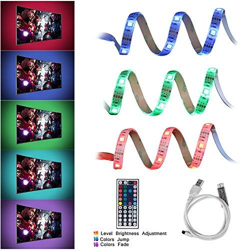 Striscia LED USB Impermeabile TV Retroilluminazione, Neolight 6.56ft ...