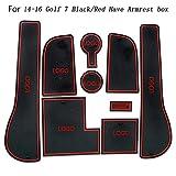 Fangfeen 9PCS / Set Porte Remplacement Slot Pad pour Golf 7 Portes 2014-2016 Groove...