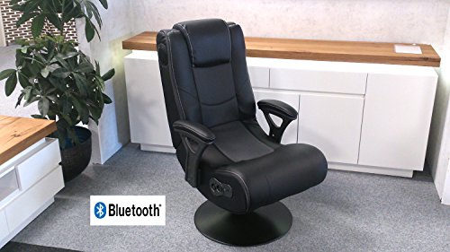 Lifestyle For Home Gaming Chair Drehsessel Music Rocker mit Bluetooth Sound Sessel