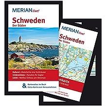 Schweden Der Süden: MERIAN live! - Mit Kartenatlas im Buch und Extra-Karte zum Herausnehmen