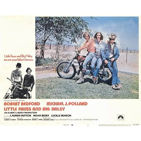 Little Fauss and Big Halsy Poster (11 x 14 Inches - 28cm x 36cm) (1970) Style H