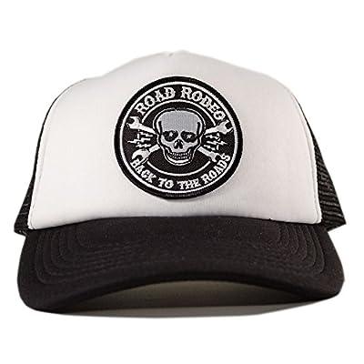Trucker Cap, Baseball Cap, Schirmmütze, Kappe, Verstellbar, Skull Patch