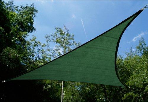 Kookaburra 5.0m Triangle Vert Tricoté Voile d'Ombrage de Réception (Tricoté 185g)