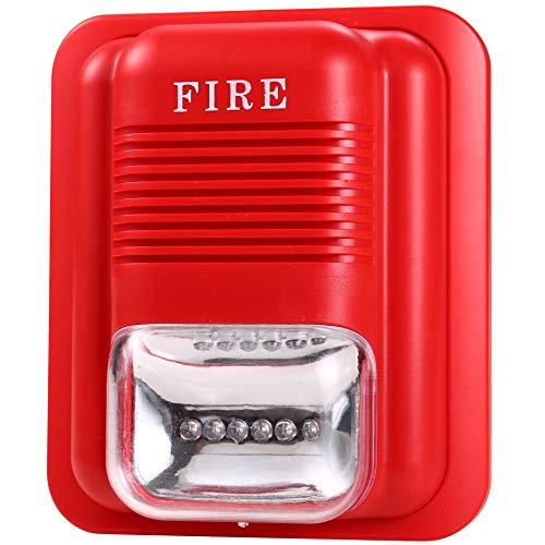 Fire Alarm Horn Strobe (uhppote Sound und Licht Fire Alarm Warnung Strobe Siren Horn Alert Sicherheit System Sensor)
