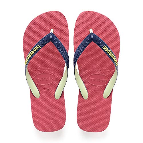 18cde6ab639261 Havaianas Top Mix, Infradito Unisex Adulto, Blu (Navy Mineral Blue), 43
