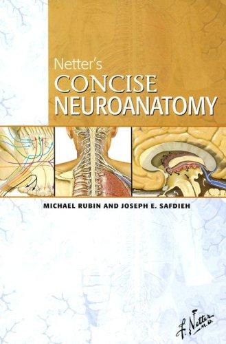 Netter's Concise Neuroanatomy, 1e (Netter Basic Science) por Michael Rubin MD  FRCP(C)