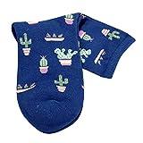 TPulling Bunte Socken Damen Witzige Socken Weihnachten Deko Schneemann Rentier 1 para Erwachsene Frauen Männer Nette Lässige Thicke Kaktus Print Mode Kurze Socken