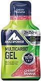 Multipower Integratore Alimentare Multi Carbo Gel Ciliegia-Banana - 1 Pacco da 24 X 0.040 kg