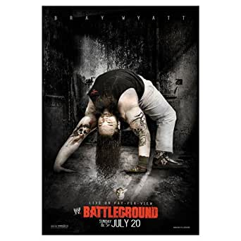 NEU BRAY WYATT POSTER WWE RAW Battleground 2014 Event-DVD-COVER Family (65 CM x 95 CM)