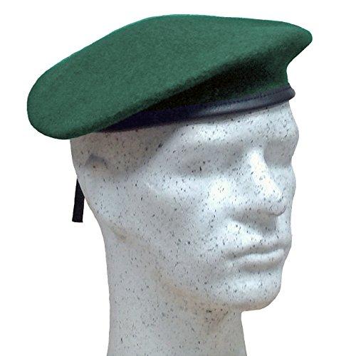 Fritzsch Französisches Commando Barett, jägergrün, Gr. 55
