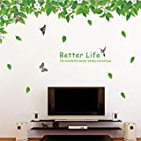 Aha Yo Verschönerung Der Dekorativen Wand Kleben Kreative Umweltschutz Wand Paste Abnehmbaren Wohn - Und Schlafzimmer Blatt 60Cm X 90Cm