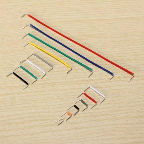 SODIAL(R) 140pcs Herradura placa sin soldadura Jumper Juego de cable de alambre para Arduino Escudo