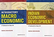 Indian Economic Development & Introductory Macroeconomic (Set of 2 Vol) for Class 12 (Examination 2021-2