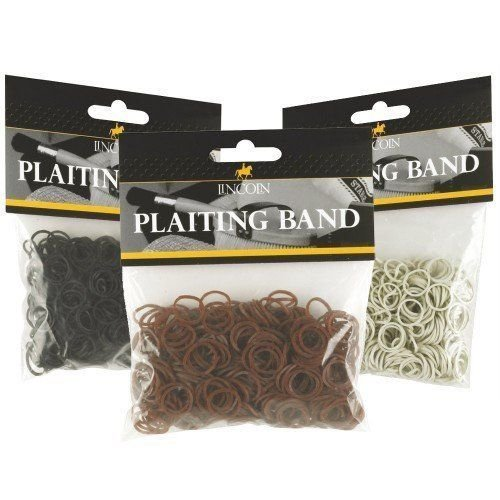 Lincoln Plaiting Bands White