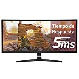 LG 34UC89G 86,36 cm (34 Zoll) Curved 21:9 UltraWideTM  Full HD IPS Gaming Monitor (144 Hz, G-Sync, DAS Mode), schwarz