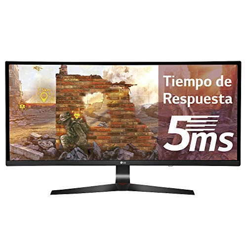 LG 34UC89G 86,36 cm (34 Zoll) Curved 21:9 UltraWideTM  Full HD IPS Gaming Monitor (144 Hz, G-Sync, DAS Mode), schwarz
