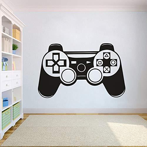 Game Controller Wandtattoo Vinyl Jungen Zimmer Wand Poster Abnehmbare Playstation Controller Wandaufkleber Home 67x42 cm