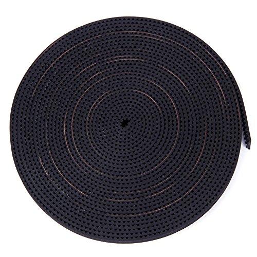 10 Metres Courroie bande Synchronisation pour Imprimante 3D Gt2 6 mm Noir