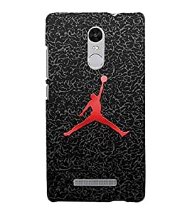 MAN WITH FOOTBALL Designer Back Case Cover for Xiaomi Redmi Note 3