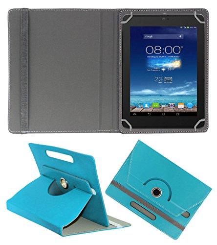 Acm Rotating 360° Leather Flip Case For Digiflip Pro Xt801 Tablet Cover Stand Greenish Blue  available at amazon for Rs.159