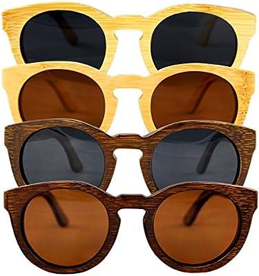 Gafas de Sol de Madera de Bambú - 100% Hechos a Mano