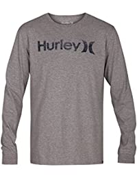 977290a2be72d Hurley One Only Push Through Camiseta de Mangas Largas