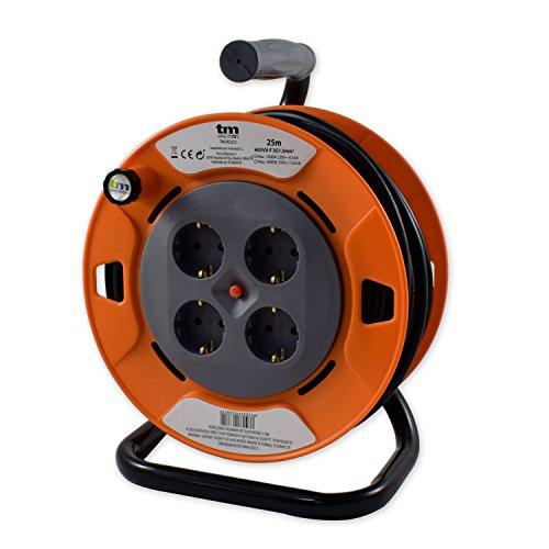 TM Electron TMUAD225 - Cable de alimentación en Bobina Enrollable de 25...