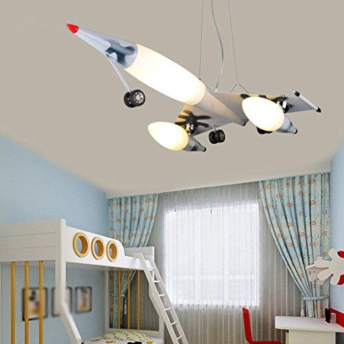 Guo Kinderzimmer Schlafzimmer Lichter Kämpfer Kreative Kronleuchter Junge Flugzeug Lichter Eisen E27 Lampenanschluss - 4