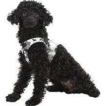 V-SOL Chaleco Arnés de Perro Mascota Teddy Camuflaje Talla M