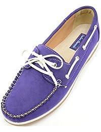 Damen/Damen Casual/Smart Sommer/Urlaub/Boot Schuhe, Violett - violett - Größe: 37