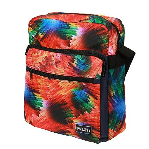 New rebels print college sac à bandoulière sac à main Batik