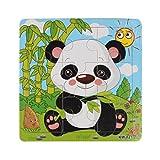 Fulltime Bébé jouet éducatif, Puzzle en bois Panda pour enfants éducation apprentissage Puzzles jouets