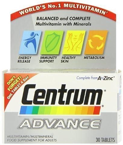 Centrum Advance MultiVitamin-30 Tablets by Centrum