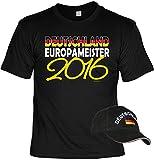 Deutschland Fussball Fanshirt T-Shirt zur EM 2016 für Männer und