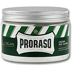 Proraso Green Eucalyptus & Menthol Pre and Post Shave Cream Large 300 ml Value Jar