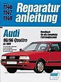 Audi 80 / 90 Quattro (ab 1989): 1,8-2.0- Liter 4-Zylinder. 8 und 16 Ventile. 2.0-/2.3-Liter 5-Zylinder. 10 und 20 Ventile (Reparaturanleitungen)