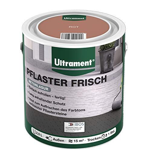 Ultrament Lasur Pflaster Frisch, Rot