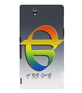 PrintVisa Maa Boli Punjabi 3D Hard Polycarbonate Designer Back Case Cover for Sony Xperia Z :: Sony Xperia C6603 :: Sony Xperia C6602 :: Sony Xperia Z LTE, Sony Xperia Z HSPA+