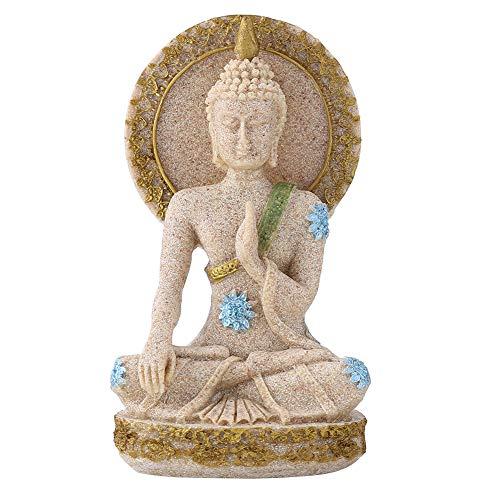 Hilitand Estatua Buda Escultura Tallada Mano Piedra